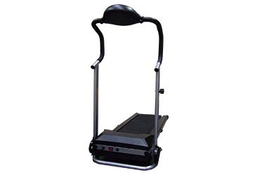 ルームランナー(トレッドミル)やステッパーなどランニングの動作で人力発電できる装置です。