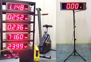 5連タイプ電力モニター