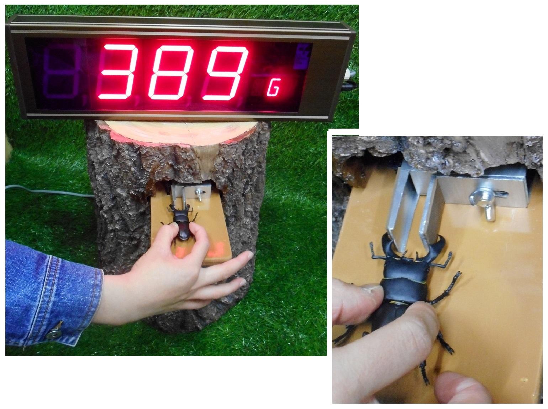 重量挙げ測定装置