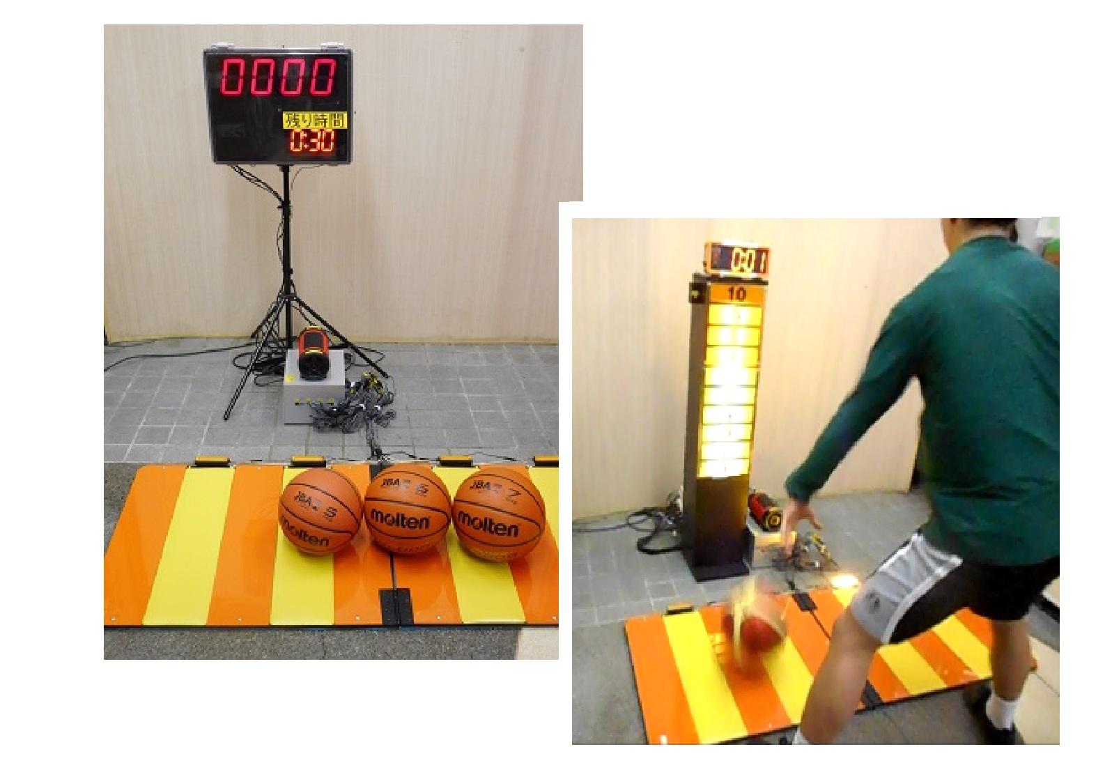 ラグビーイベント用測定装置