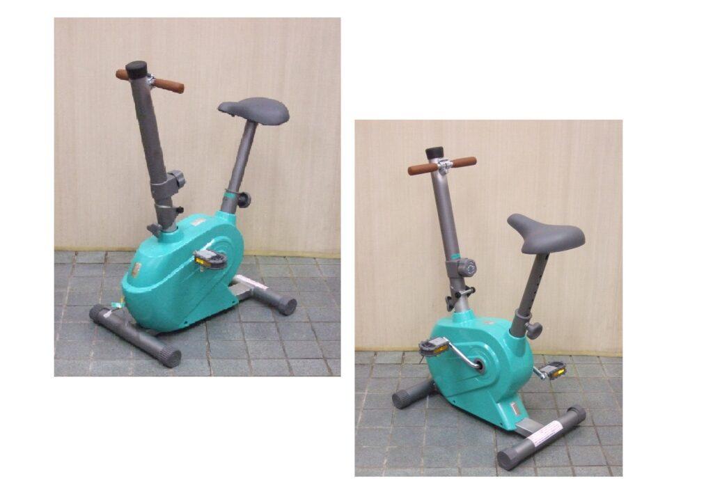 コンパクト エアロバイク発電機(超小型 自転車発電機)1