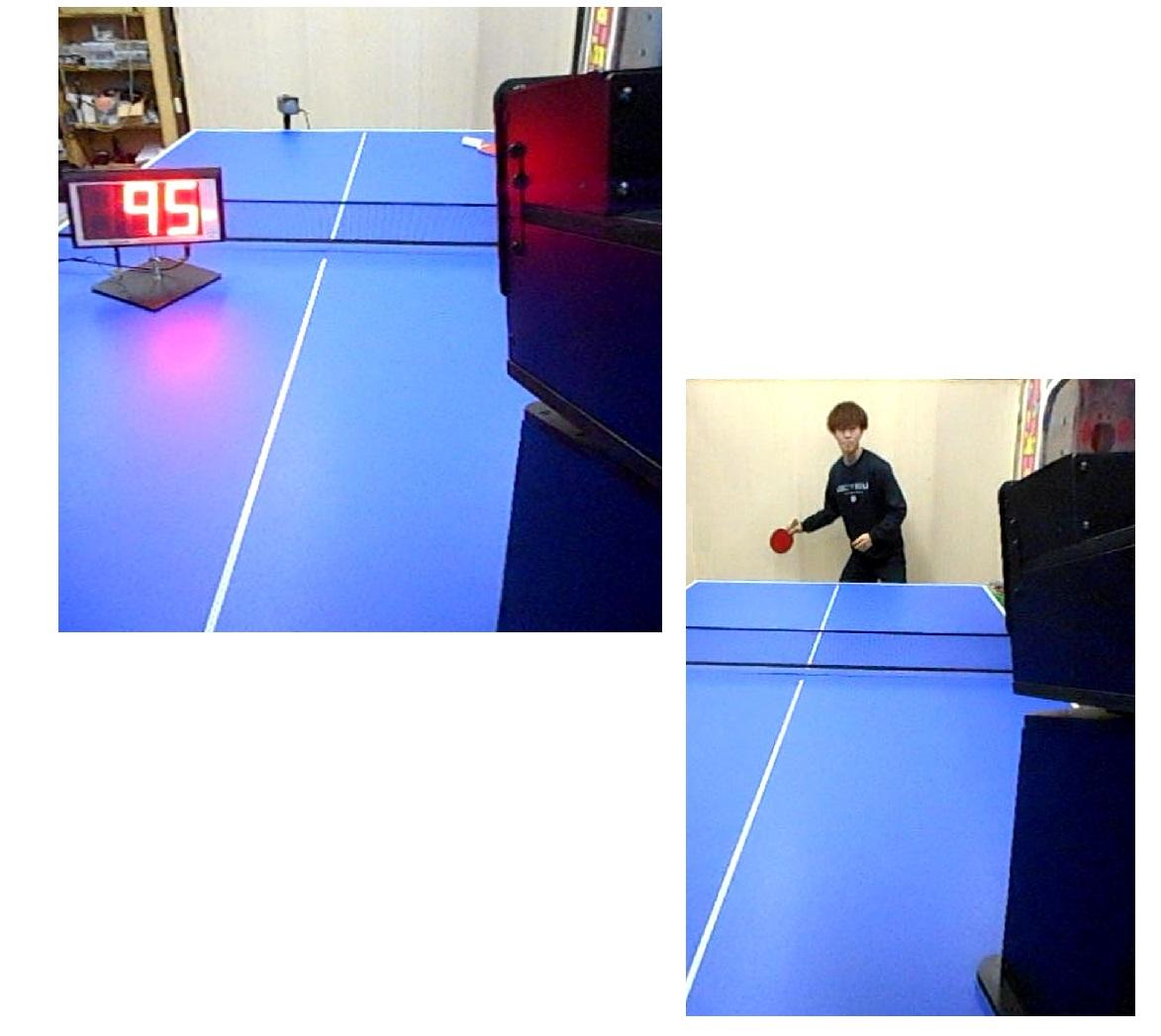 在庫:2式。超高速で卓球ボールが発射されます。