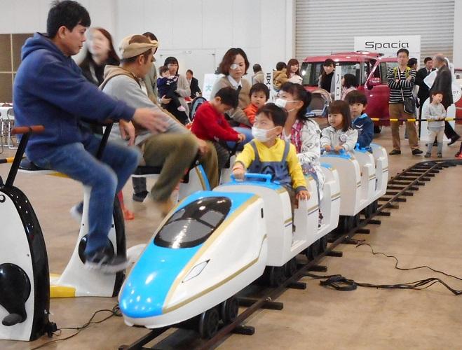 人力発電 ミニ 新幹線(北陸新幹線タイプ)