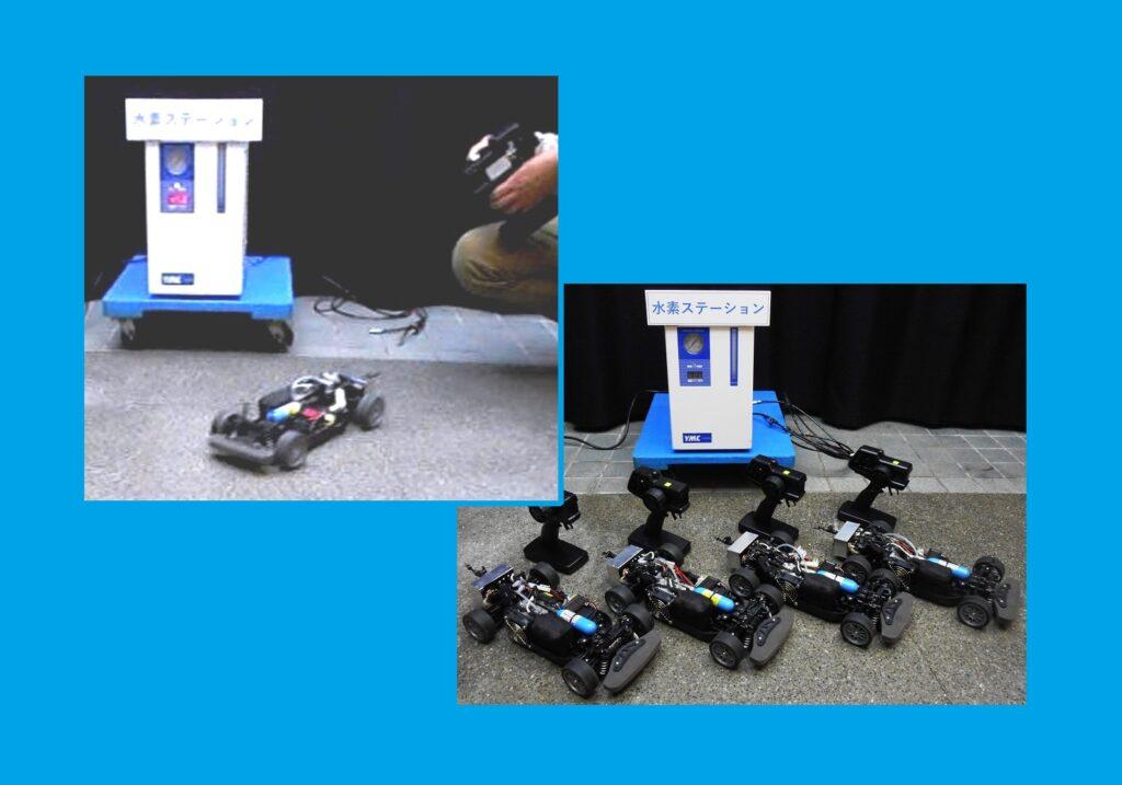 燃料電池 ラジコン(大) でレース機材 1