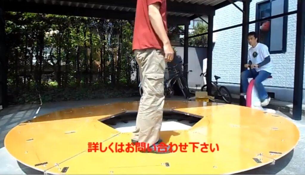 直径3.6m(積載荷重最大400kg)、2m(積載荷重最大250kg)、1.2m(積載荷重最大150kg)の3種を在庫。